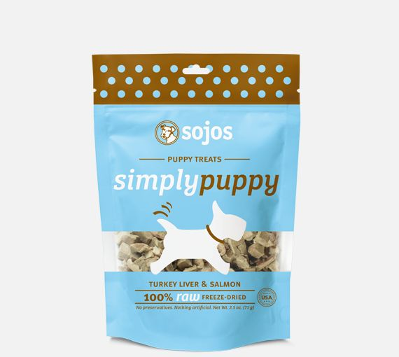 Sojos Sojos Puppy Simply Turkey & Salmon 2.5oz