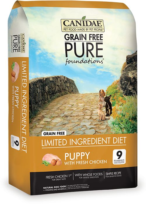 Canidae Canidae Pure Foundations Puppy 24lb