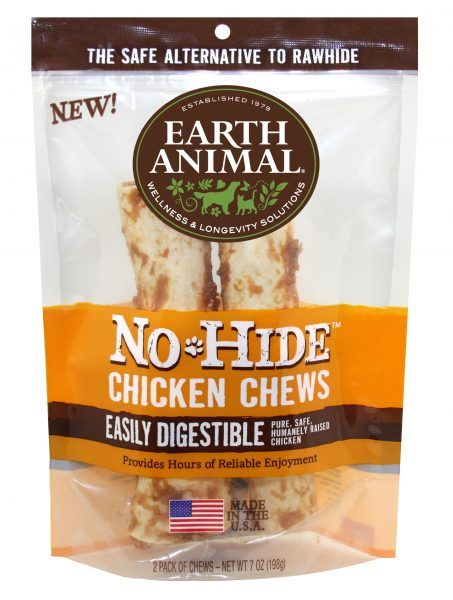 "Earth Animal Earth Animal Chicken Chew 4"" 2-Pack"