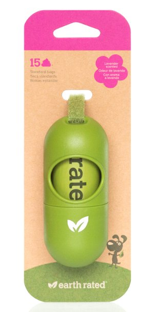 Earth Rated Earth Rated Poopbags Dispenser 15 Bags