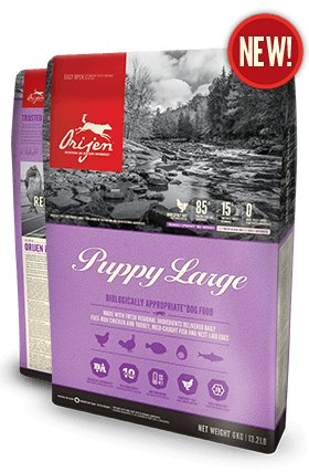 Orijen Orijen Dog Puppy Large Breed 25lb