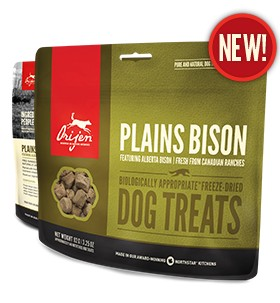 Orijen Orijen Freeze Dried Bison Treats 3.25oz