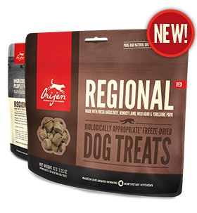 Orijen Orijen Freeze Dried Regional Red Treats 3.25oz