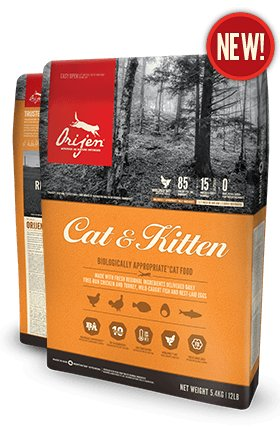 Orijen Orijen Cat Kitten 4lb