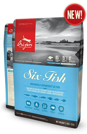 Orijen Orijen Cat Six Fish 12lb