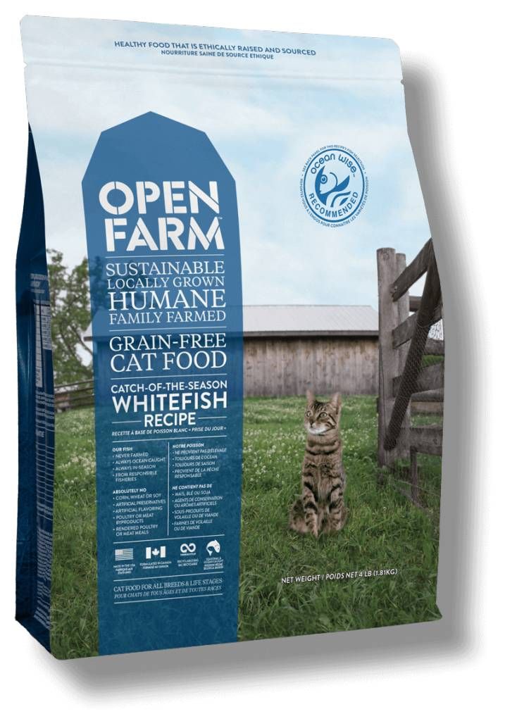 Open Farm Open Farm Whitefish Cat 4lb