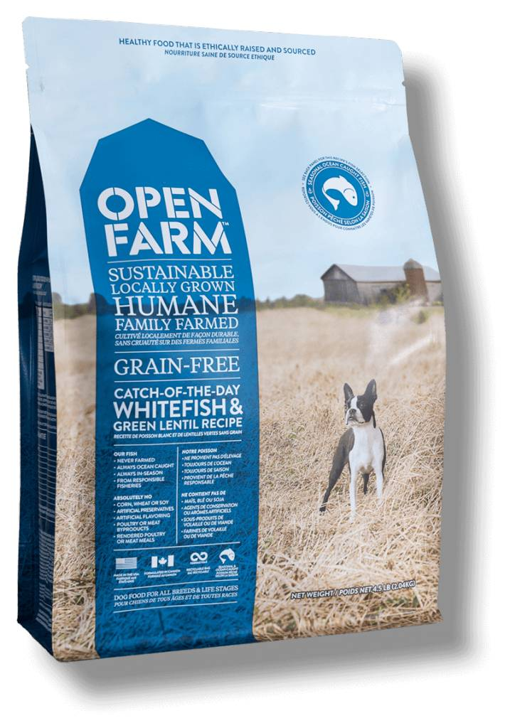 Open Farm Open Farm Whitefish & Green Lentil 4.5lb