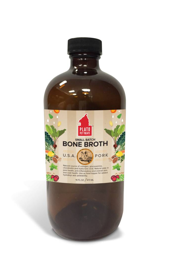 Plato Plato Pork Bone Broth 16oz
