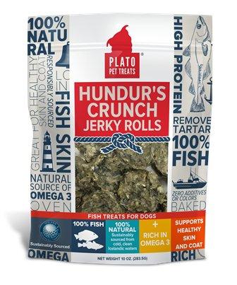 Plato Plato Hundurs Fish Skin Rolls 10oz