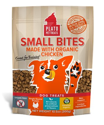 Plato Plato Small Bites Organic Chicken 10.5oz