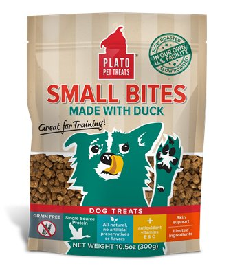 Plato Plato Small Bites Duck 4oz