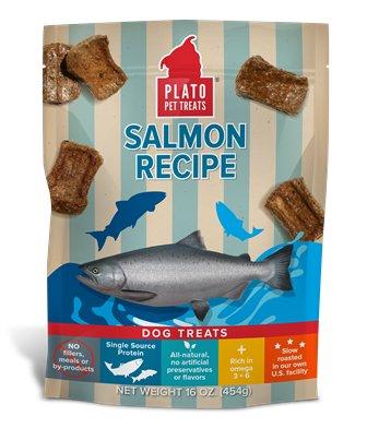 Plato Plato Salmon Strips 16oz