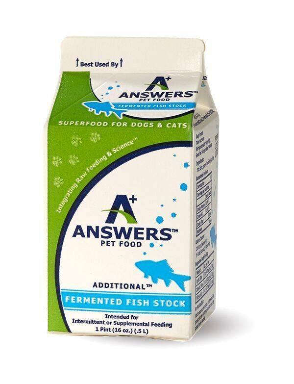 Answers Answers Fish Stock Pint