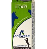 Answers Answers Raw Goats Milk Quart