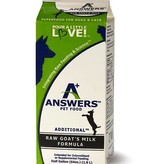 Answers Answers Raw Goats Milk Half Gallon