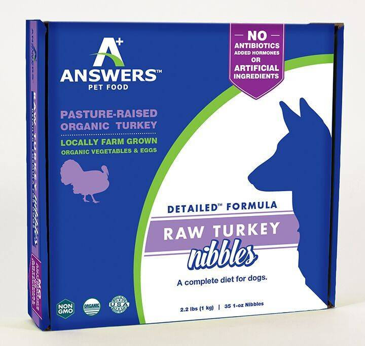 Answers Answers Detailed Turkey 2.2lb Nibbles
