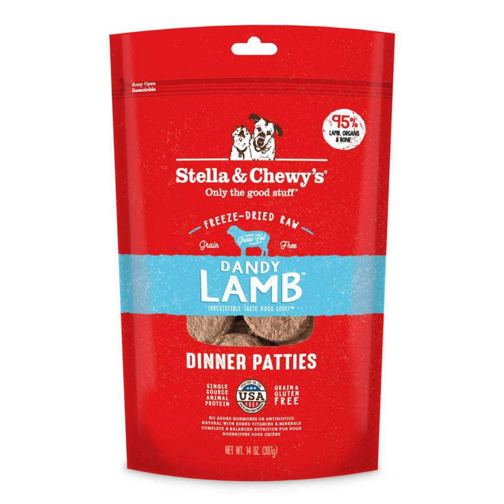 Stella & Chewys Stella & Chewy's Dog Freeze Dried Lamb 14oz