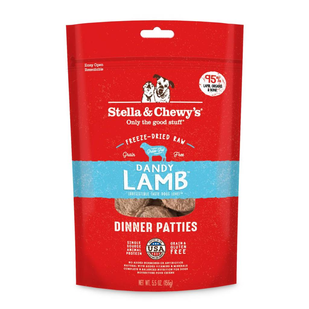 Stella & Chewys Stella & Chewy's Dog Freeze Dried Lamb 5.5oz