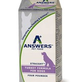 Answers Answers Straight Turkey 4lb Half Gallon