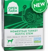 Open Farm Open Farm Dog Turkey Rustic Stew 12.5oz case