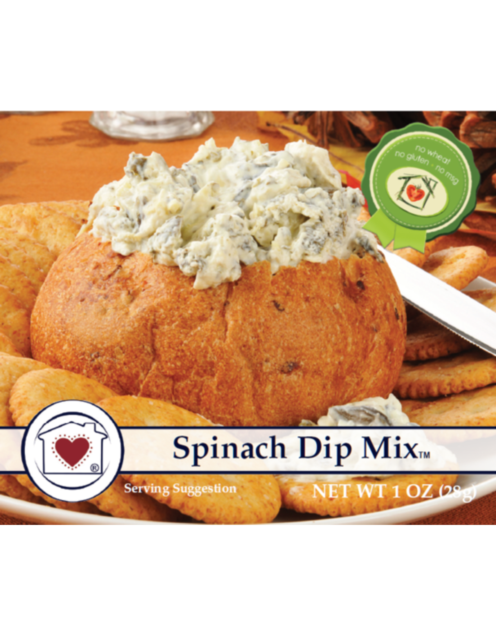 Country Home Creations SPINACH DIP MIX