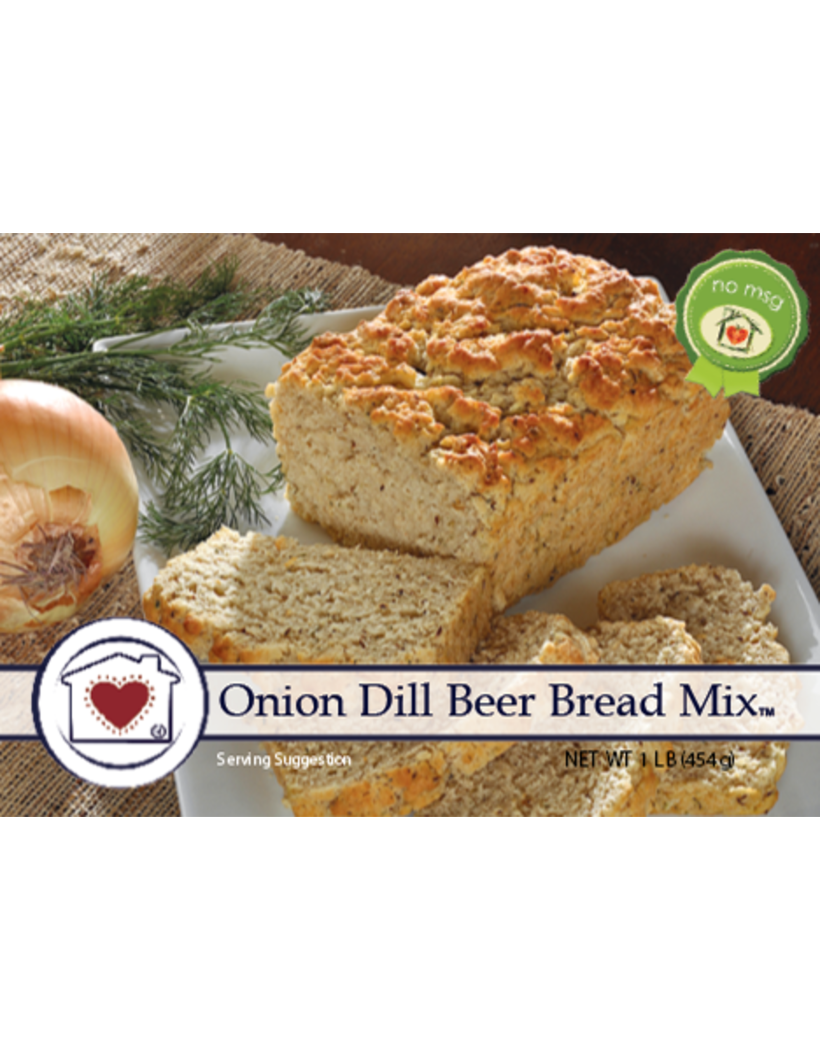 Country Home Creations ONION DILL BEER BREAD MIX