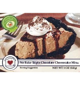 Country Home Creations TRIPLE CHOCOLATE NO BAKE CHEEESECAKE MIX