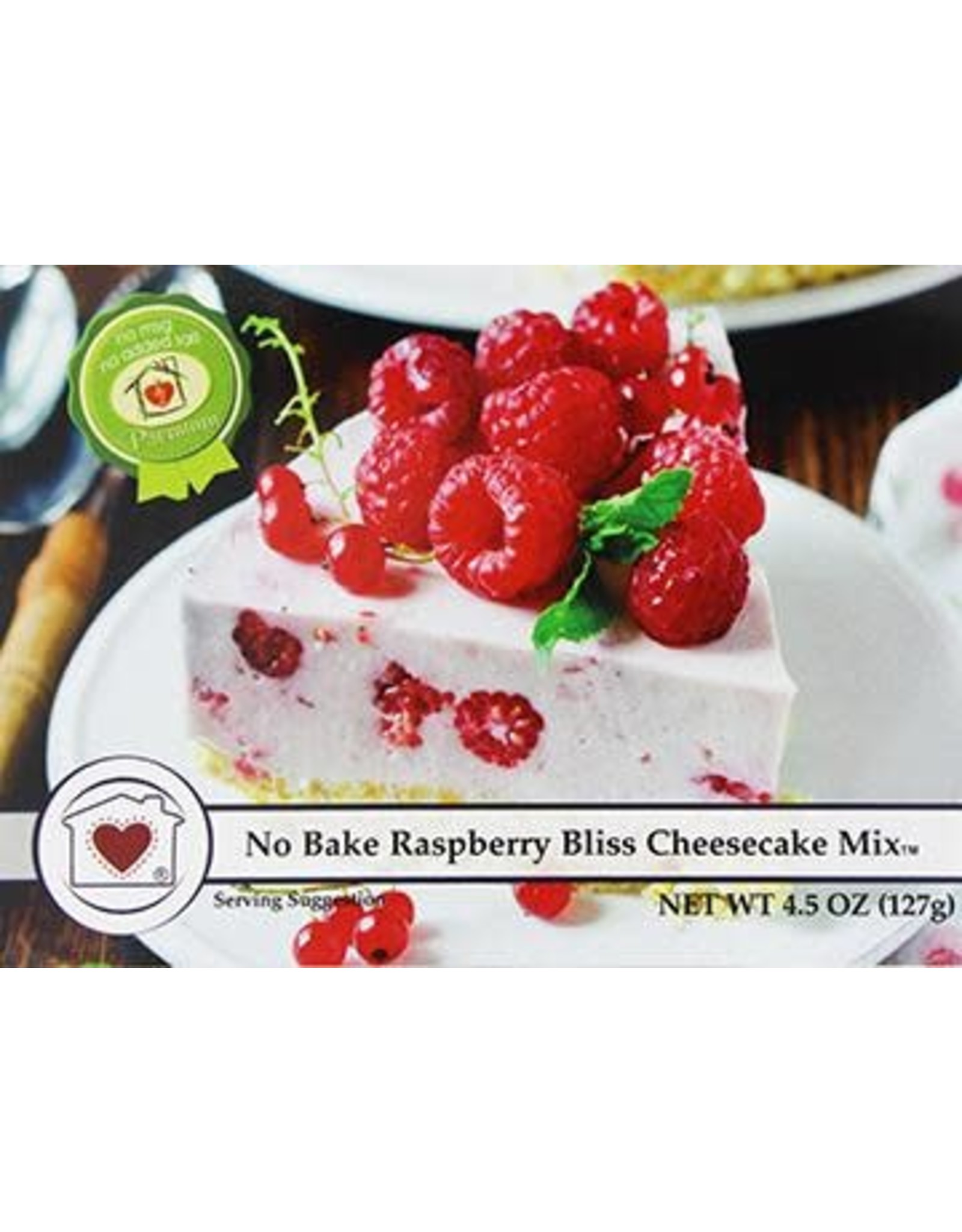 Country Home Creations NO BAKE RASPBERRY BLISS CHEESECAKE MIX