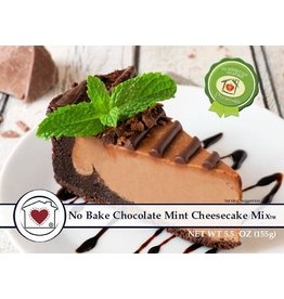 Country Home Creations NO BAKE CHOCOLATE MINT CHEESECAKE MIX