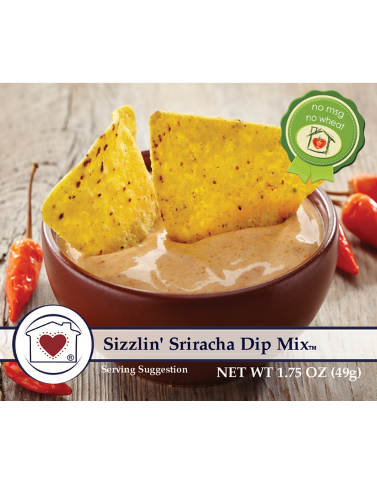 Country Home Creations SIZZLIN SRIRACHA DIP MIX