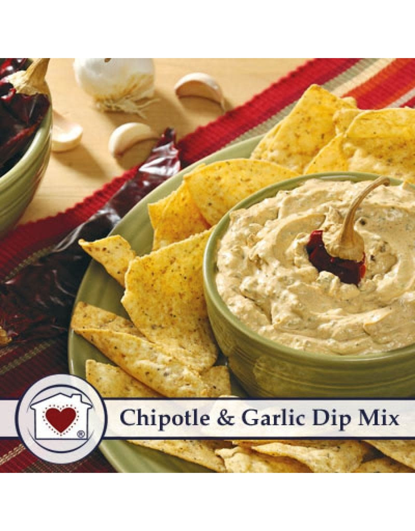 Country Home Creations CHIPOTLE GARLIC DIP MIX