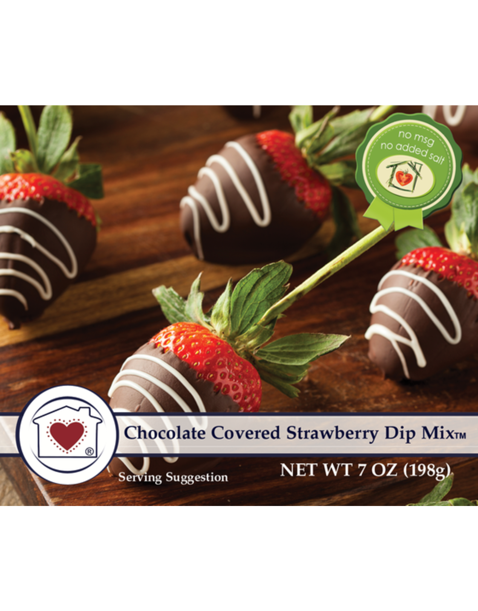 Country Home Creations CHOCOLATE COVERED STRAWBERRY DIP MIX