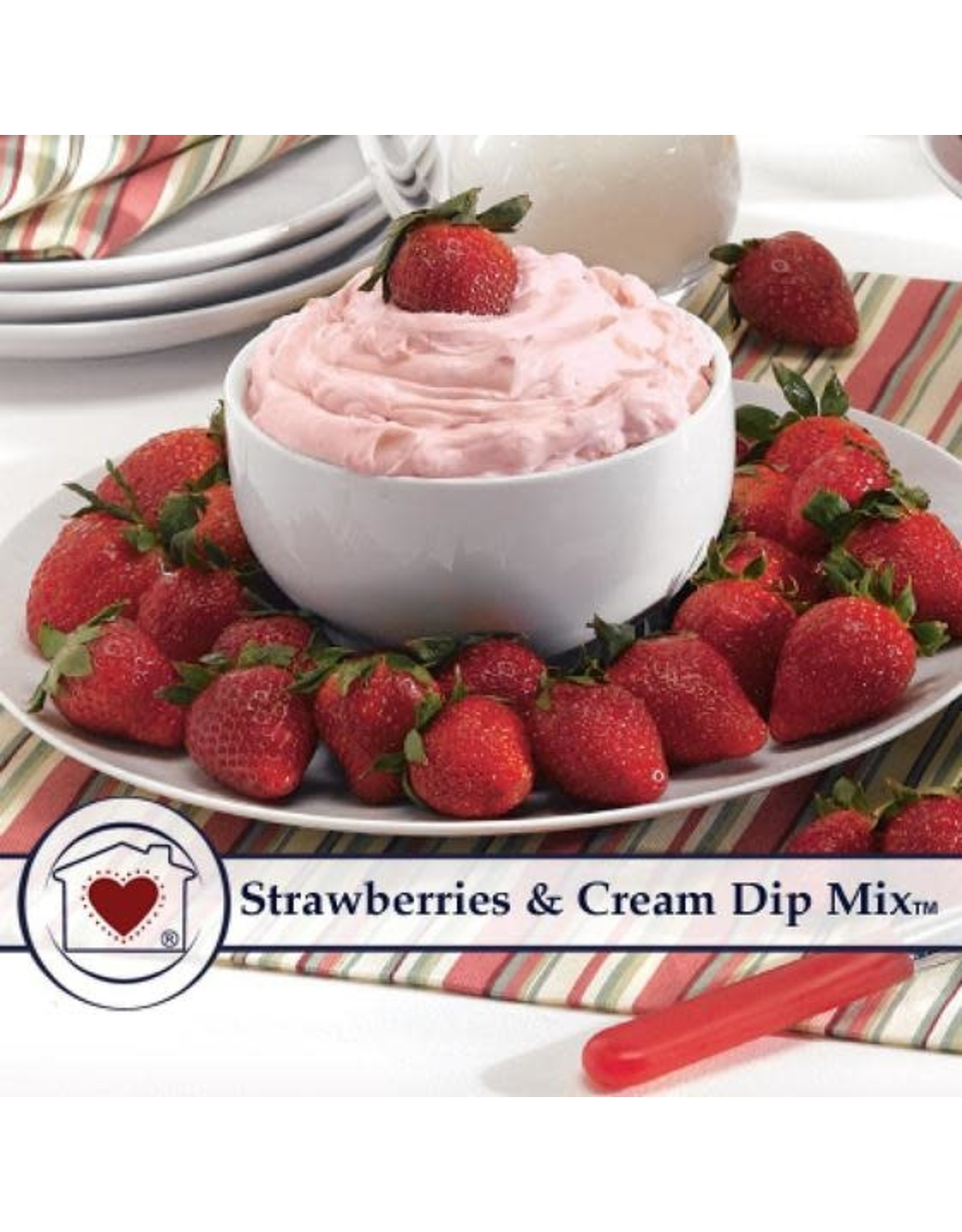 Country Home Creations STRAWBERRIES AND CREAM DIP MIX