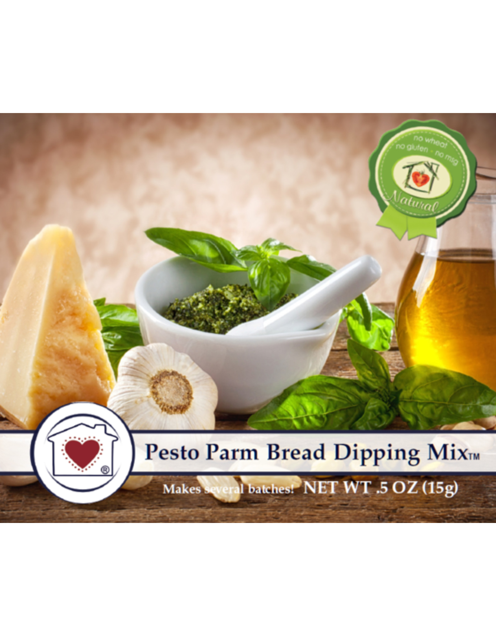 Country Home Creations PESTO PARMESAN BREAD DIPPING MIX