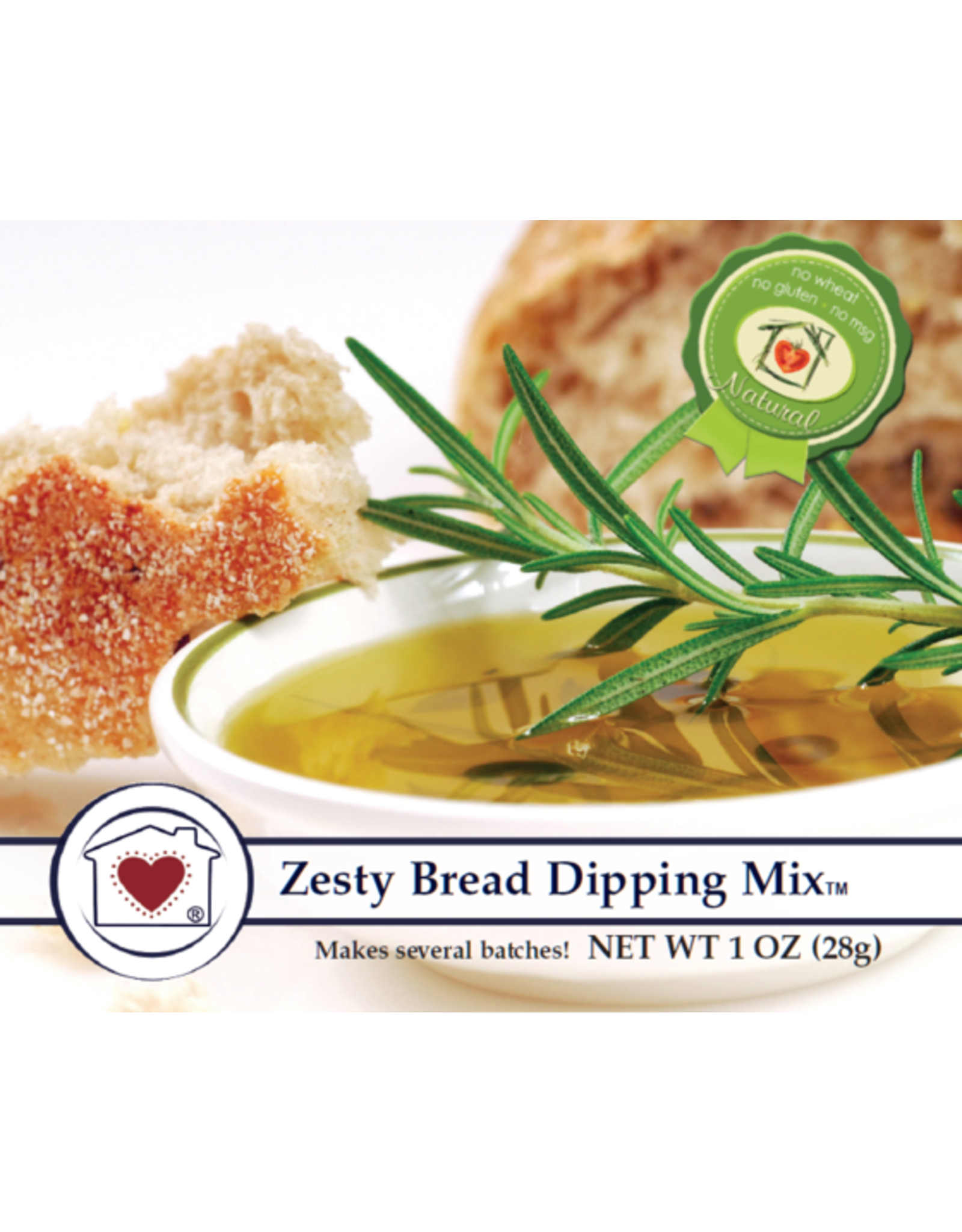 Country Home Creations ZESTY BREAD DIPPING MIX