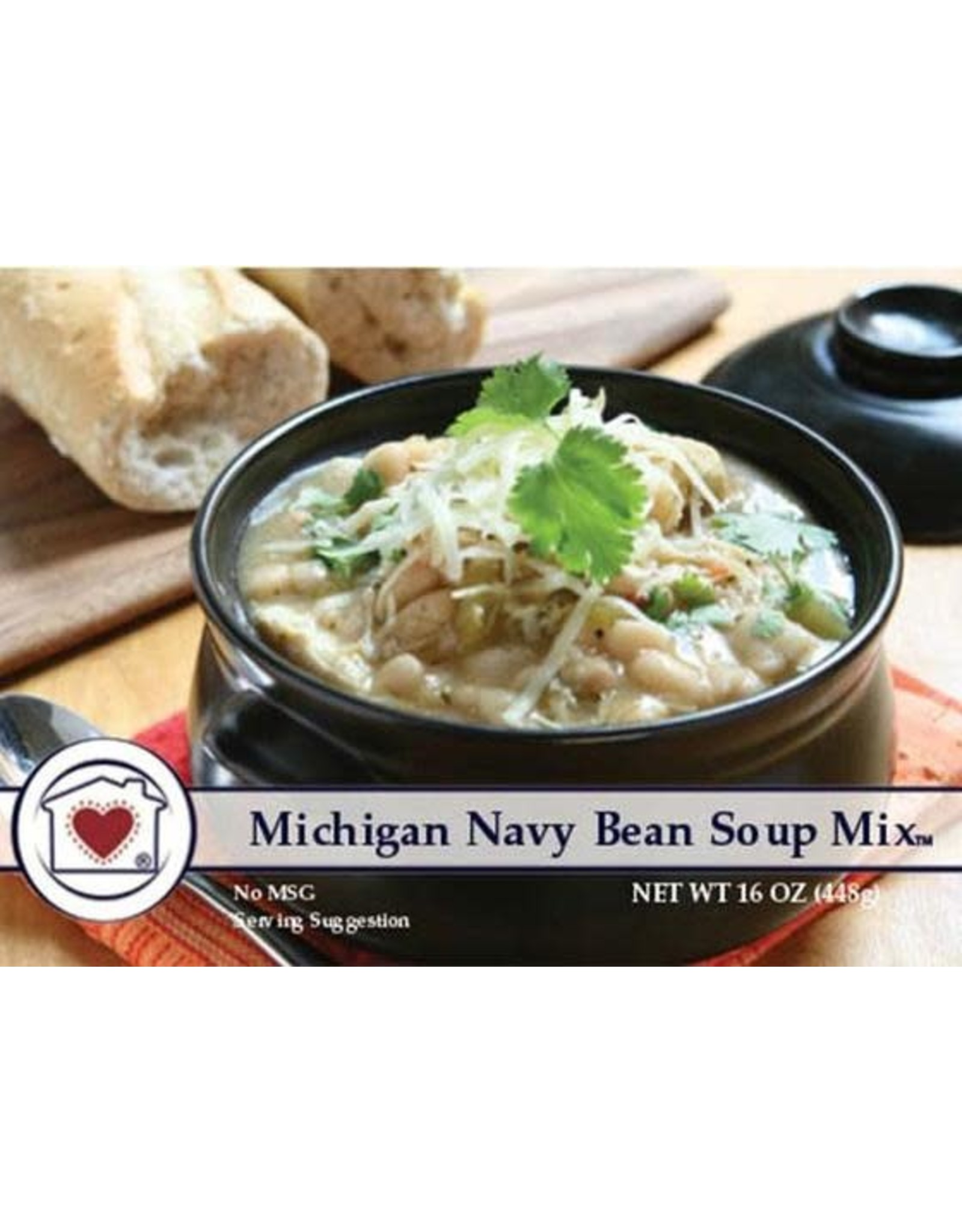 Country Home Creations MICHIGAN NAVY BEAN SOUP