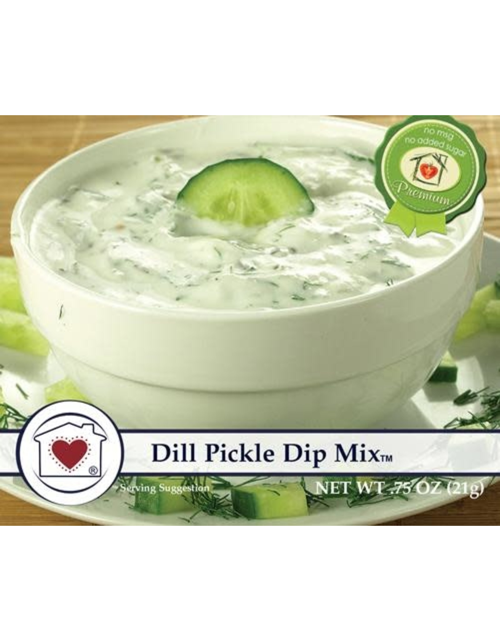 Country Home Creations DILL PICKLE DIP MIX