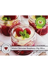 Country Home Creations WHITE CHOCOLATE RASPBERRY DIP MIX