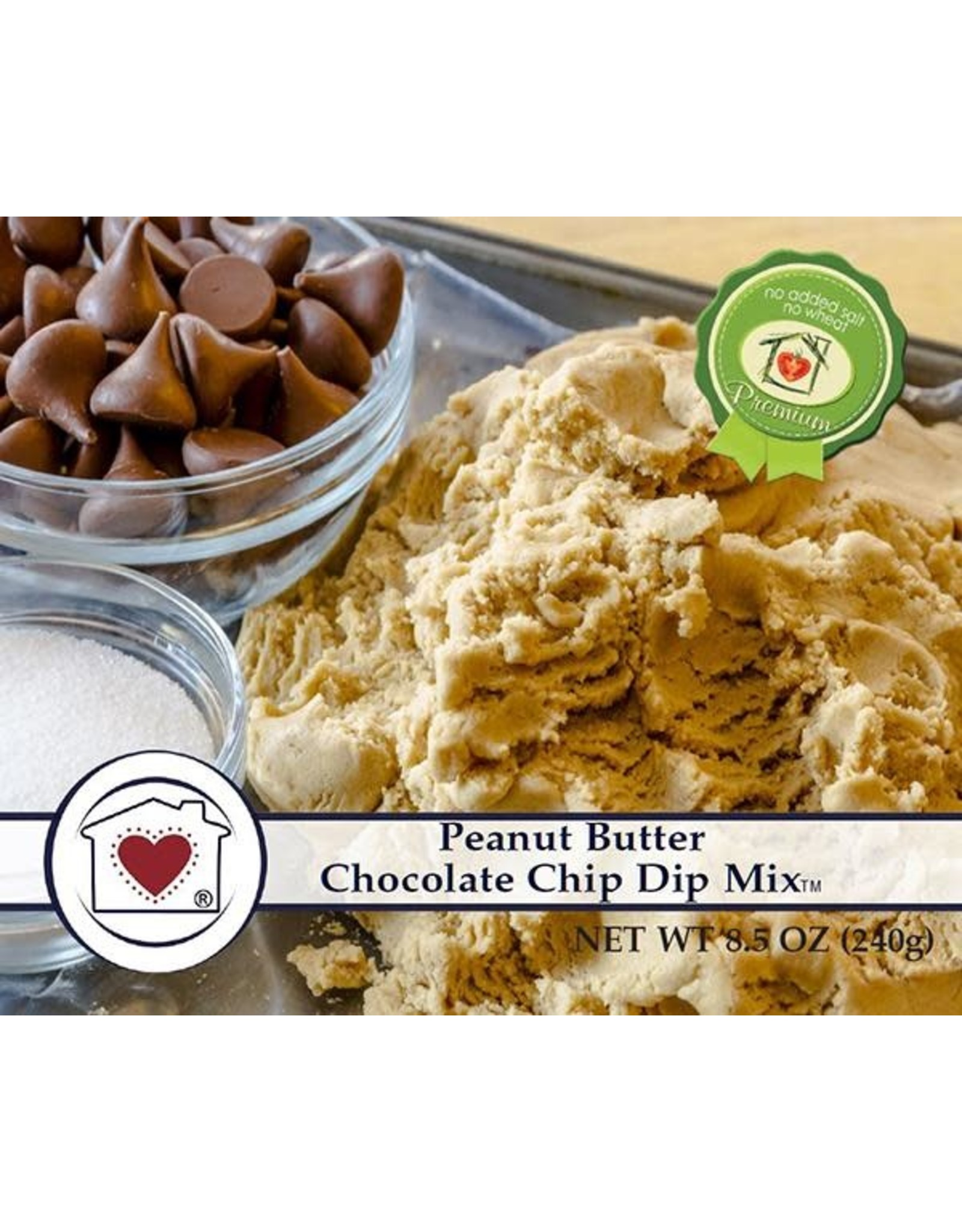 Country Home Creations PEANUT BUTTER CHOCOLATE CHIP DIP MIX
