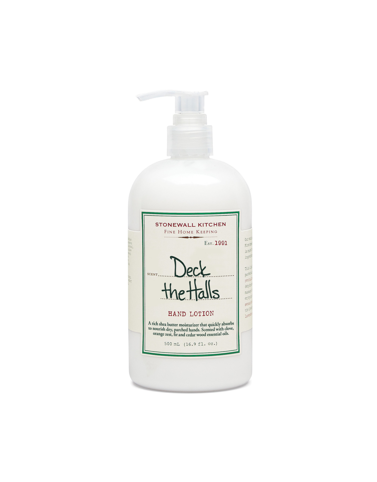 Stonewall Kitchen HAND LOTION