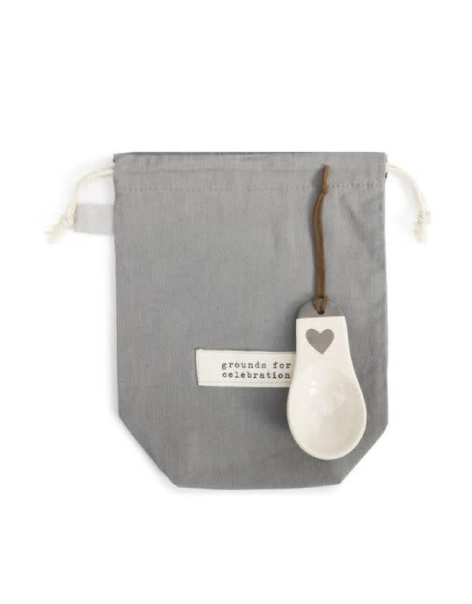 Demdaco CELEBRATION COFFEE BAG WITH SCOOP