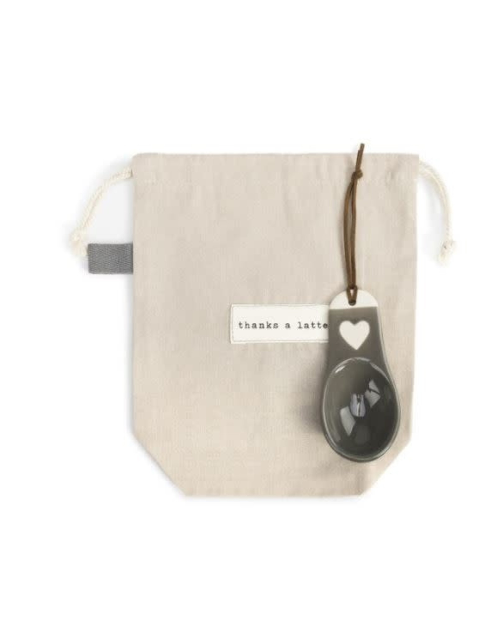 Demdaco THANKS COFFEE BAG WITH SCOOP