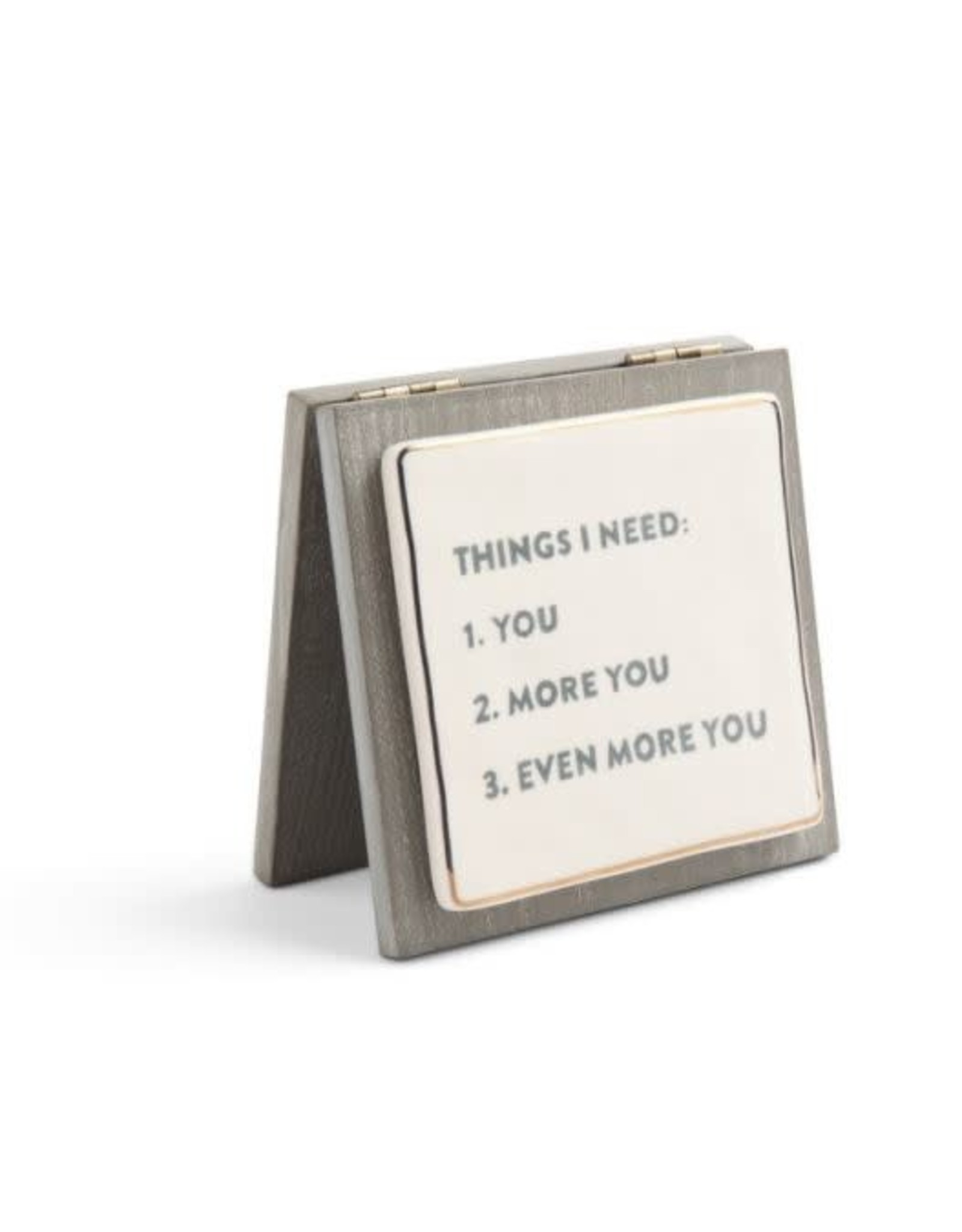 Demdaco THINGS I NEED FOREVER CARD