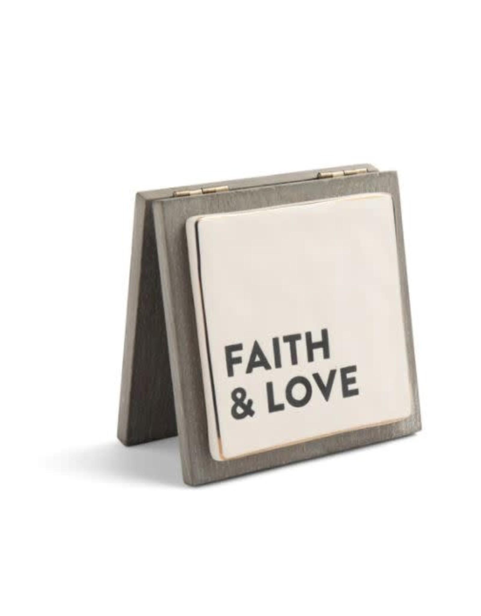 Demdaco FAITH & LOVE FOREVER CARD