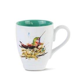 Demdaco HUMMINGBIRD IN NEST MUG