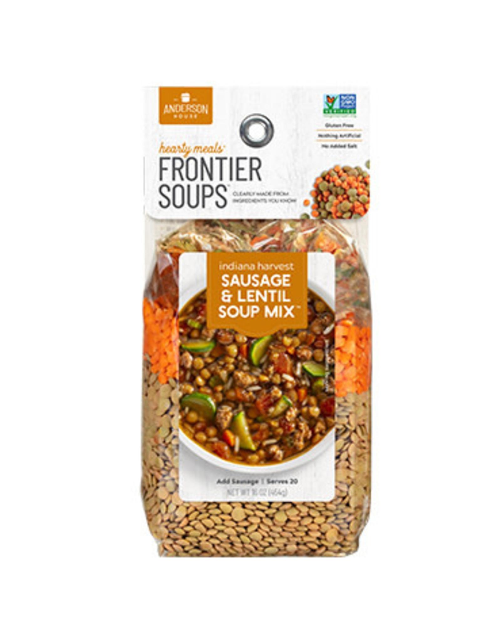 Frontier Soups INDIANA HARVEST SAUSAGE AND LENTIL SOUP