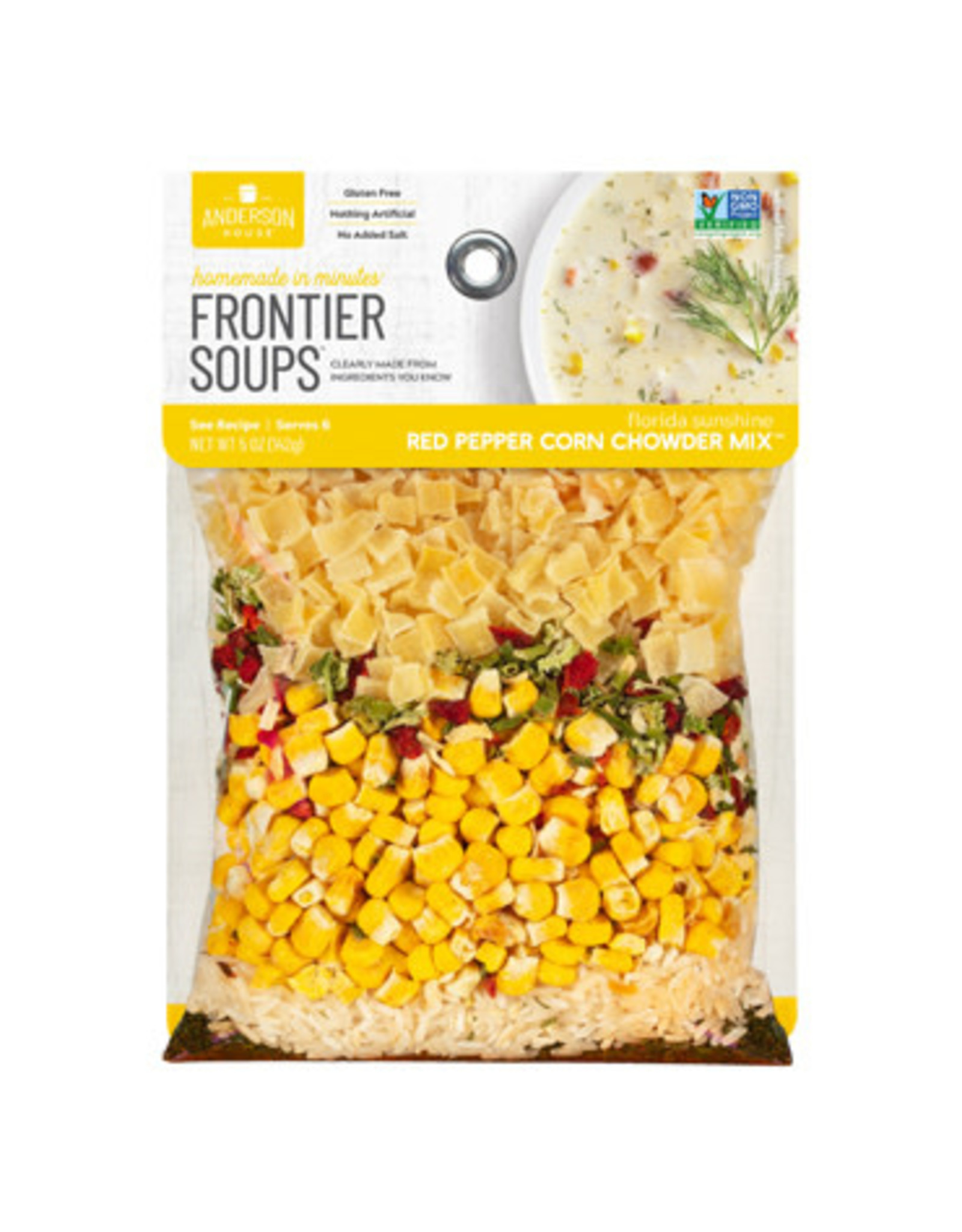Frontier Soups FLORIDA SUNSHINE RED PEPPER CORN CHOWDER