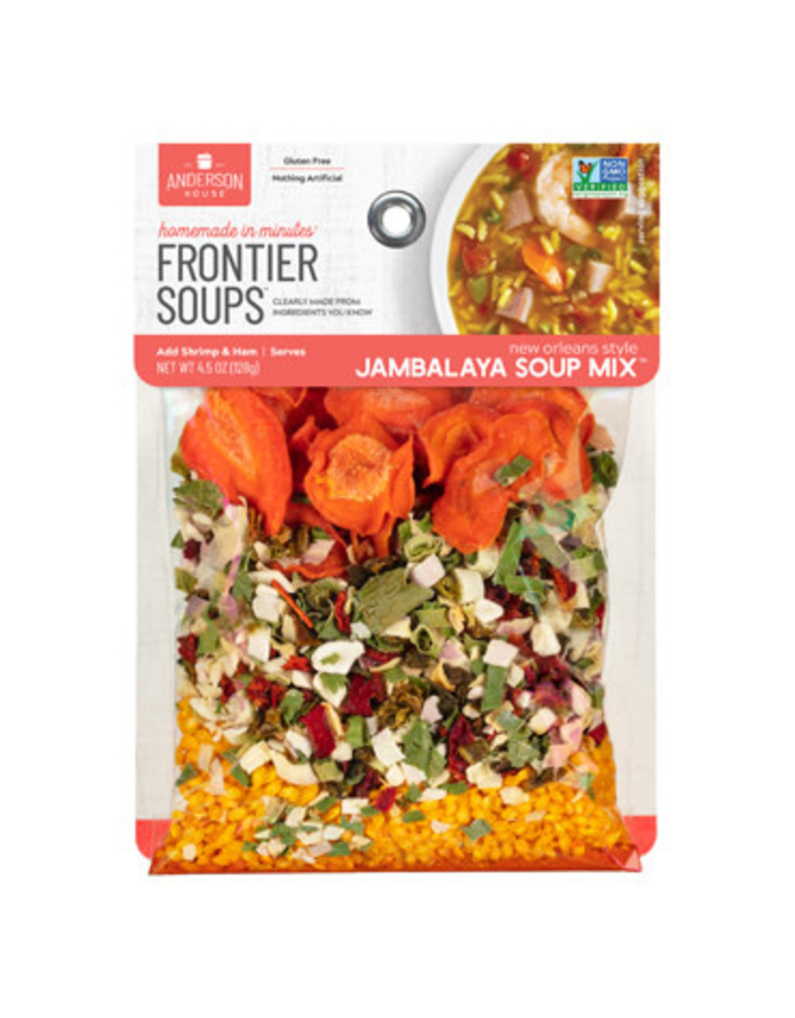 Frontier Soups NEW ORLEANS JAMBALAYA SOUP MIX