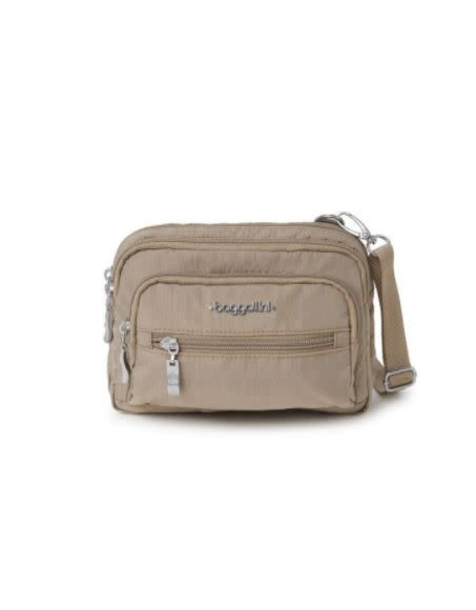 Baggallini TRIPLE ZIP BAG