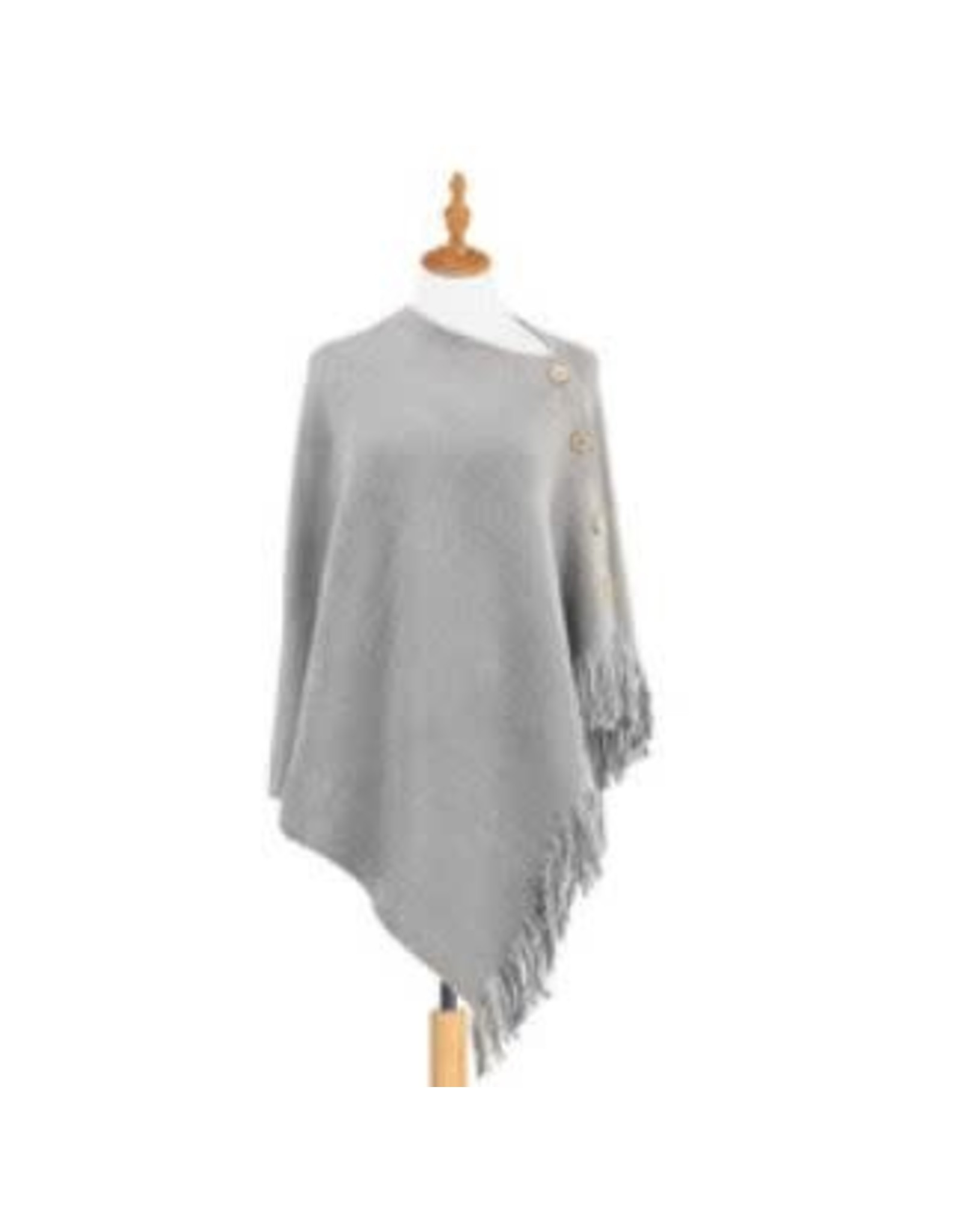 Demdaco GRAY PRAYER SHAWL
